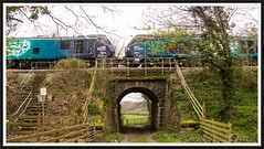At Tai Lon 27th (peterdouglas1) Tags: directrailservices valleyflasks 6d43 class88 88009 class68 68001 northwalescoastrailway costa