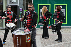 Drummers (alison's daily photo) Tags: drummers barrowinfurness cumbria 100xthe2019edition 100x2019 image28100