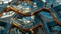 Manhattan, NY: A look inside the completed Vessel, opened 15 March 2019 (nabobswims) Tags: hudsonyards ilce6000 lightroom luminositymasks manhattan mirrorless ny nabob nabobswims newyork photoshop sel18105g sonya6000 thevessel us unitedstates