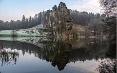 Externsteine (Matthias_G.) Tags: externsteine berge geröll spiegelungen see licht