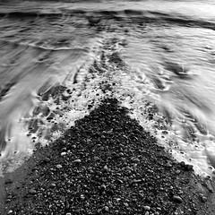 """V"" (PeskyMesky) Tags: aberdeen aberdeenbeach water movement waterfall rocks longexposure landscape canon canon5d eos"