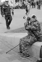 (see it, shoot it) Tags: 2017 kodaktrix leicam3 street candid liverpool army navy man pierhead