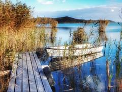BALATON (petyhh) Tags: hdr balaton lake seascape boat pier reflection nature