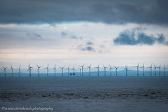 Offshore windfarm (www.chriskench.photography) Tags: england lakedistrict cumbria turbines energy landscape fujifilm xt2 kenchie wwwchriskenchphotography