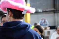 pink. ({Sam~I~am}) Tags: cowboy cowgirl pink fluffy sparkle sparkly hat farm show pennsylvania 2019 tag man guy boy teen people person