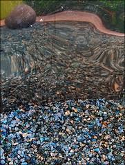 The Vision (Logris) Tags: abstrakt abstract vision reflexion spiegelung fantasy fantasie blue blau steine weg way reflections reflection canon