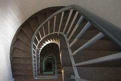 Staircase (Elbmaedchen) Tags: staircase stairwell stufen treppenhaus treppe escaliers escaleras roundandround interior architektur architecture upanddownstairs