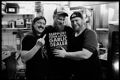 Kitchen staff (Micke Borg) Tags: 12min 20˚ 11 xtol kodak 640 hp5 ilford 14 35mm nokton voigtlander m4 leica brödernaolsson garlicshots folkungagatan södermalm söder sweden stockholm