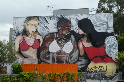 LushSux graffiti, Melbourne