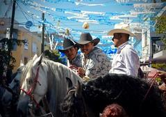 Caballeros de Santa Anita (On^ste81) Tags: mexico guadalajara santaanitapueblo jalisco cowboys horse ranchero men