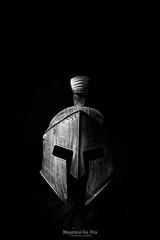 The night before… (Maurizio Scotsman De Vita) Tags: helmets bw biancoenero elmetti studio monochrome blackandwhite italia elmi elmo