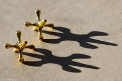jacks in hard light (sure2talk) Tags: macromondays hardlight jacks shadows jacksinhardlight golden naturallight nikond7000 nikkor85mmf35gafsedvrmicro macro closeup 119picturesin201915beginningwiththeletterj