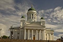 A9759HELSb (preacher43) Tags: helsinki finland senate square building architecture cathedral kruununhaka sky clouds