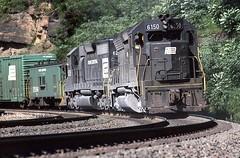 Helping Hand (NSHorseheadSD70) Tags: robert tokarcik penn central transportation company railroads trains railways locomotives emd pennsylvania altoona horseshoe curve sd40 sd45 eastbound westbound