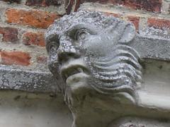 UK - Hertfordshire - Near Hoddesdon - Rye House Gatehouse - Gargoyle (JulesFoto) Tags: uk england ramblers capitalwalkers hertfordshire hoddesdon ryehousegatehouse gargoyle
