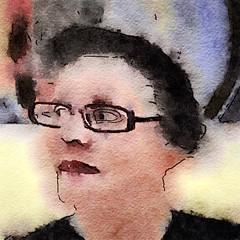 Gila Rayberg (chartan) Tags: waterlogue procreate ipad portrait jkpp