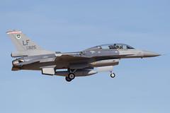 usaf_f-16_lf93825_LUKE (Lensescape) Tags: luke lukeairforcebase phoenix 2019 unitedstatesairforce usaf f16 lf lf93825 93825
