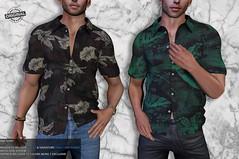 Raf Shirt @EQUAL l March 10th (Chuck Size) Tags: chucksize chucksizeforever menswear mesh mens men male equal10 belleza signature geralt gianni jake chuck´s