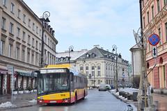 Solaris Urbino 12 Electric - 1918 - 222 - 21.12.2018 (VictorSZi) Tags: poland transport publictransport nikon nikond5300 december decembrie winter iarna varsovia warsaw