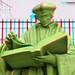 3D-statue Erasmus Coolsingel Rotterdam 3D
