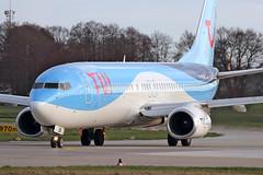 Boeing 737-8BK(WL) - D-ASUN - HAJ - 19.03.2019 (2) (Matthias Schichta) Tags: haj hannoverlangenhagen eddv planespotting flugzeugbilder tuifly boeing b737800 dasun
