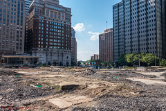 Love Park Deconstruction 2016 (ViewFromTheStreet) Tags: 2016 allrightsreserved blick blickcalle blickcallevfts calle copyright2016 lovepark pennsylvania philadelphia photography stphotographia streetphotography viewfromthestreet amazing candid classic construction dirt ground parkway street vftsviewfromthestreet ©blickcallevfts ©copyright2016blickcalle