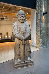 1656 sculpture of a military official (quinet) Tags: 2017 antik asia canada ontario rom royalontariomuseum toronto ancien antique