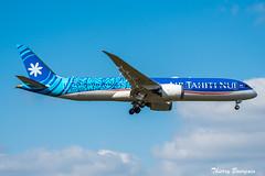 [CDG] Air Tahiti Nui Dreamliner Boeing 787-9 _ F-OMUA (thibou1) Tags: thierrybourgain cdg lfpg spotting aircraft airplane nikon d810 tamron sigma airtahitinui boeing boeing787 b789 b7879 dreamliner fomua landing fakarava tahiti lax