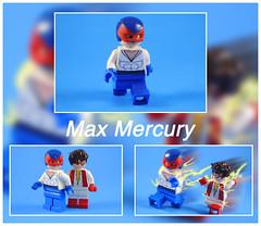 Max Mercury (-Metarix-) Tags: lego super hero minifig max mercury flash impulse speedforce custom bart allen dc comics comic universe prenew 52