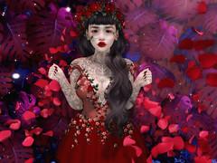 ♥♥♥ (ღ ღ[[J E SSIE ]] ღ ღ) Tags: bauhausmovement dress roses rose maitreya avatar secondlife secondlifeblog sl style av avi blogger cute sintiklia genus babyface genusproject flower