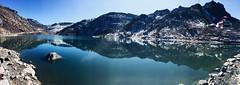 Lake Tsomgo  {EXPLORED} (rajnishjaiswal) Tags: bike bikeride sikkim lake mountains blue bluesky bluewater icecoveredmountains reflection nature beautifulnature