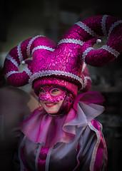 Pink´s Girl (davidcasanova1994) Tags: carnavale pink girl costume smile sonrrisa carnaval carnival mujer chica nikon d610 ff 50mm 18g venecia venice moment momentos nikkor portrait febrero february
