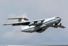 Ilyushin Il-76MD Ukrainian Air Force UR-78820 (Clément W.) Tags: ilyushin il76md ukrainian air force ur78820 riat 2018 egva