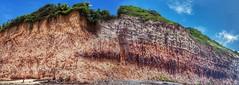 Praia da Pipa (sileneandrade10) Tags: sileneandrade praiadapipa baíadosgolfinhos tibaudosul falésia vermelho terra paredõesrochosos rocha praia