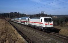 146 577  bei Eutingen  23.02.19 (w. + h. brutzer) Tags: eutingen 146 eisenbahn eisenbahnen train trains deutschland germany railway elok eloks lokomotive locomotive zug ic db webru analog nikon