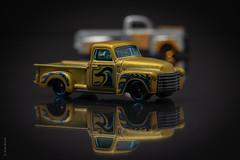 1952 Chevy Pickup (Wade Brooks) Tags: 1949 1952 artbywadebrooks chevy f1 ford pickup thetoycarproject