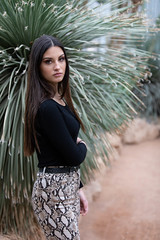 A warm place (Claude Schildknecht) Tags: beautiful beauty charlotte europe fashion france girl greenhouse lyon madagascar makeup maquilleuse parcdelatêtedor places pretty shooting young