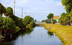 A Canal Along Tamiami Trail (ACEZandEIGHTZ) Tags: canal nikon d3200