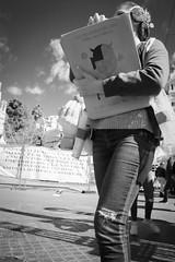 Papergirl (lucas2068) Tags: bw blancoynegro blackandwhite byn monochrome monocromo valencia españa spain