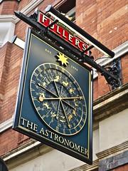 The Astronomer, London, UK (Robby Virus) Tags: london england uk unitedkingdom britain gb greatbritain astronomer pub bar tavern booze alcohol sign signage fullers
