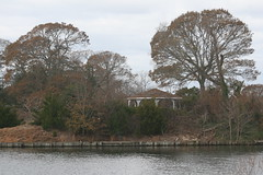 Forgotten Island (eyriel) Tags: landscape nature lake island tree tr trees gazebo water