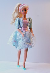 Bridesmaid Collection turquoise dress 1992 (CooperSky) Tags: bridesmaid collection turquoise dress 1992 hasbro sindy fashion