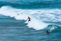 Wave riders (Thanathip Moolvong) Tags: sydney newsouthwales australia au wave surf sea ocean people sport