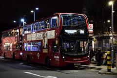 Metroline TEH2086 on Route 266, Hammersmith Bus Station (e400olympus) Tags: metroline e400mmc hybrid adl teh2086 lk15cug 266 hammersmith
