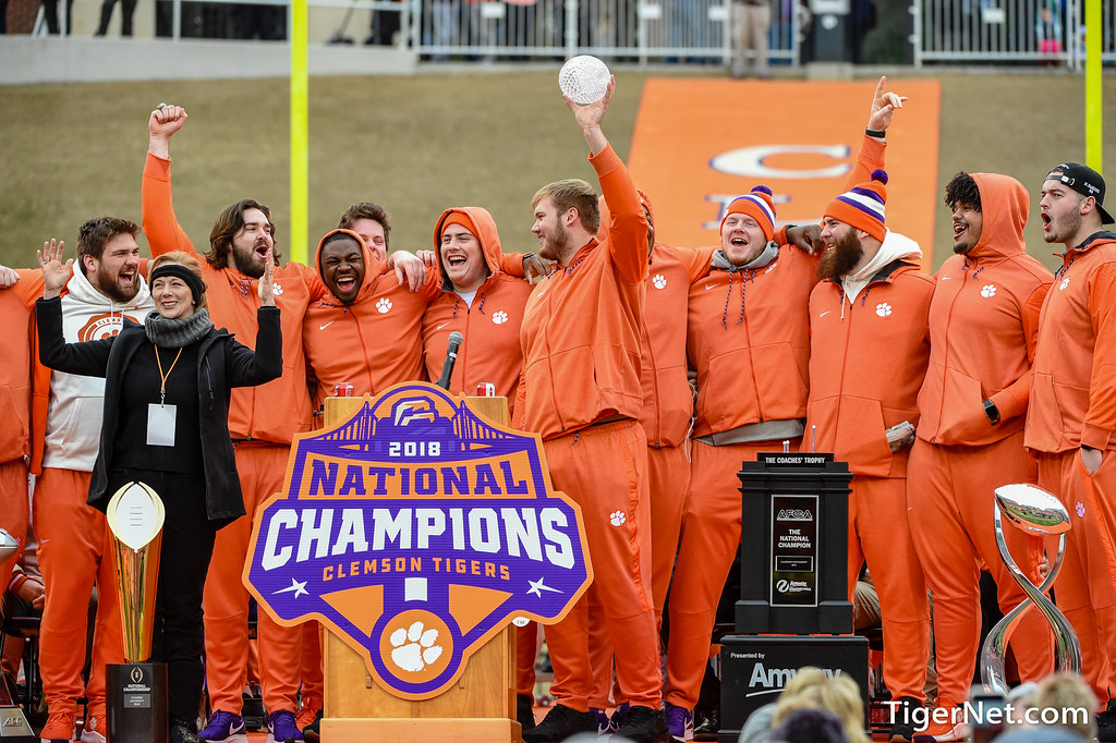 Clemson Photos: Mitch  Hyatt, 2018, Football