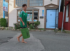 RockportGreenBucket (fotosqrrl) Tags: rockport massachusetts streetphotography bearskinneck bucket