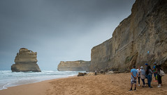 Gibson Steps (andyscho2004) Tags: gibsonsteps portcampbellnationalpark 12apostles beach tourism cloudy cliff limestone sand water surf nikon z6 geomorphology