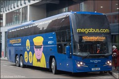 Megabus YX68UAO (Mike McNiven) Tags: stagecoach midlands megabus rugbydepot bustarhymes london coventry manchester shudehill interchange liverpool plaxton elite plaxtonelite volvo