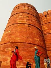 Agra Red Fort (PoLiTvS) Tags: 2011 2011india1 agra asia castillos digital formatos india lugares viajes
