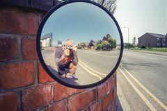 Reflection (Howie Mudge LRPS BPE1*) Tags: leica leicamini3 mirror reflection me myself i wall sunny day summer 2018 film filmisntdead analog analogphotography 35mm 35mmfilm 35mmfilmphotography kodak kodakcolorplus200 plustekopticfilm8200i negative scan